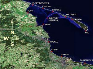 porty w Zatoce Gdańskiej i Zatoce Puckiej